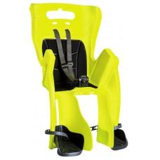 Сиденье задн. Bellelli Little Duck Standard Multifix неоново-желтое с черной подкладкой (Hi Vision)