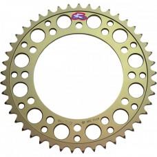 Звезда Renthal Hard Anodised Chainwheel 525 - KTM [Gold], 42z