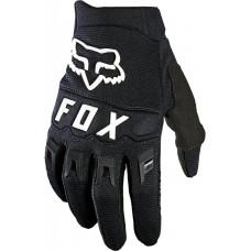 Детские мото перчатки FOX YTH DIRTPAW GLOVE [Black/White], YL (7)