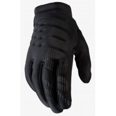 Детские зимние мото перчатки Ride 100% BRISKER Cold Weather [Black], YXL (8)