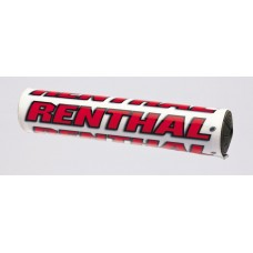 "Защитная подушка на руль Renthal SX Pad 10"" [White/Red], No Size"
