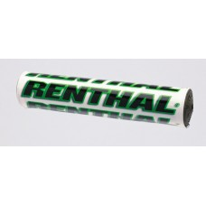"Защитная подушка на руль Renthal SX Pad 10"" [White/Green], No Size"