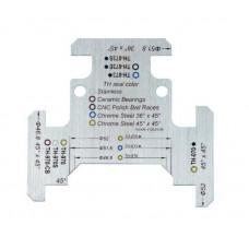 """Инструмент FSA HEADTUBE GUIDE, шаблон для подбора рулевой колонки 1-1/4""""и 1-1/2"""""""